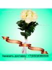 Букет из белых роз (70см)